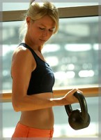 Are Kettlebell workouts suitable for women?