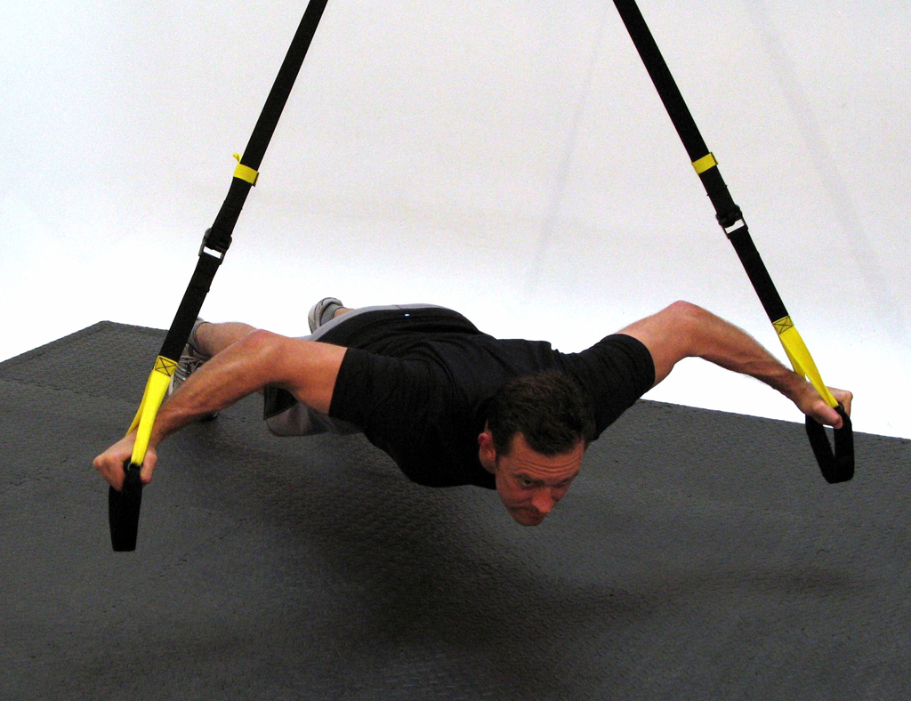 Get a Strapping Physique with Suspension Straps