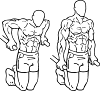 Chest Exercise Dips