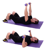 How To Perform The Dumbbell Floor Press