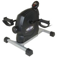TV Cardio with a Mini Exercise Bike