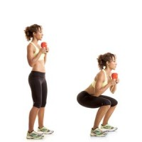 How to Squat with one Kettlebell