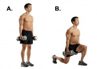 How to Do Lunges at Home