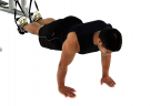 Suspended Push Ups