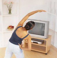 Lose Fat While Watching TV
