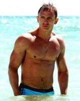 Daniel Craig at the Beach