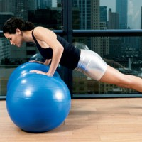 Press Ups on a Swiss Ball